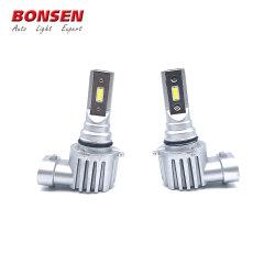 V10 LED compacta Lámpara de faro antiniebla H1 H1 H3 H4 H11 H7 Auto LED Bombilla del faro halógeno para reemplazar