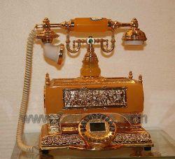 مركبة هاتف كريستالية/حرفة هاتف قديمة (CR5007)