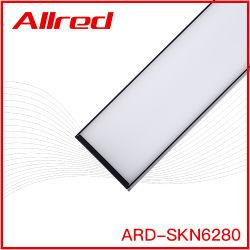 Série d'éclairage linéaire LP6080-2000mm Aluminium LED moderne suspendue raccordables Éclairage linéaire Commercial monté en surface