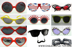 Favori di partito degli occhiali da sole dei capretti, occhiali da sole al neon per i capretti, ragazzi e ragazze, spiaggia di estate, favori di partito del raggruppamento, regali di divertimento, giocattolo del partito, vetri della bambola, giocattolo dei bambini