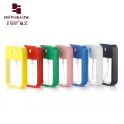 Fabrik-Lieferanten-Großverkauf-bereiten transparenter feiner Nebel-Spray-Pumpen-Duftstoff PETG kosmetische verpackenplastikdesinfizierer-Sprüher-Flasche der hand45ml auf