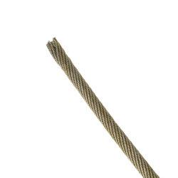 黒い鋼線ロープ35wx7 14mm