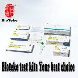 2019 novo Kit de teste de antigénio rápido in Vitro para loja médica de supermercado doméstico, 1 teste/caixa