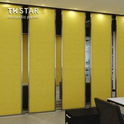 Th-Star 100% fibra de poliéster revestida de tecido resistente ao fogo Painel Acústico