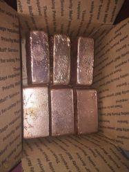 熱い販売の銅のインゴットか純粋な銅のインゴット99.999%/Phosphorous銅のインゴット