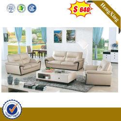 中国の快適な居間の寝室のソファーの家具は1+1+3のL形の組合せの骨董品の革リクライニングチェアのコーナーファブリックソファーをセットした