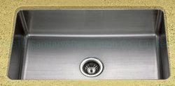 Usc3118 gepresst gezogen 31× 18, unter Montage Einzelschale mit kleinen Radius Ecken Utensil Schrank Zubehör Arbeitsplatte Edelstahl Küchenspüle