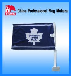 De Vlaggen van de raceauto