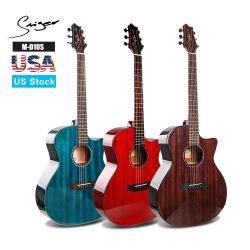 M-D10s-41 globales OEM sólidos instrumentos musicales guitarra eléctrica acústica superior