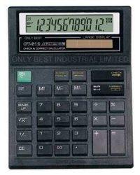 Calculatrice d'impôt, calculatrice solaire (CT-612)
