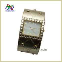 西部の革腕時計、西部の女性水晶革腕時計(OW0216)