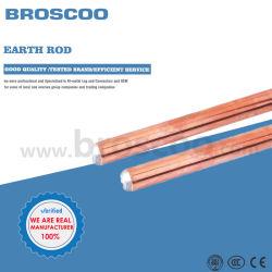 Ligação à terra de galvanoplastia barra de terra de cobre