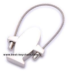 Alliage de zinc métal trousseau de clés de conception personnalisée de l'avion (BK11347)