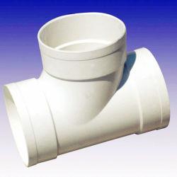 Giunto a T in PVC SCH- 40 di buona qualità, bianco per fabbrica cinese