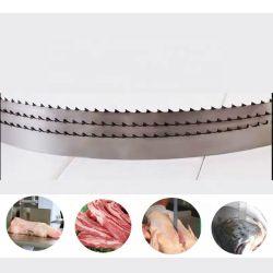 탄소 강철 이는 고기는 절단기 톱날을 튼튼한 절단 악대 잎 뼈가 본 쇠고기를 강하게 한다