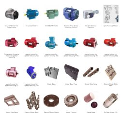 Электродвигатели Y2, Y3, Y Yc Yl Ys ярдов серии Sm тормоза при движении оборудования детали трансмиссии трехфазный блок Total-Sealed асинхронных электродвигателей