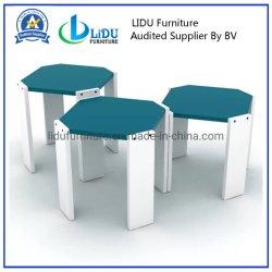 거실 홈과 사무용 가구 현대 3개의 다리 작은 목제 테이블 측 테이블 커피용 탁자 측 테이블 세트