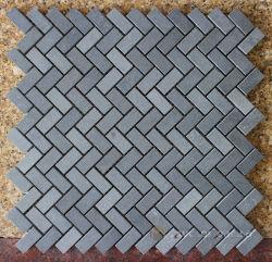 La Chine, de la Mosaïque Mosaïque de basalte de pierre, de carreaux en pierre de lave basaltique grise