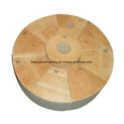 La alúmina alto fuego ladrillo para la fabricación de acero