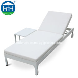 Plage d'utilisation spécifique de vente chaude Texilene Chaise longue avec l'aluminium