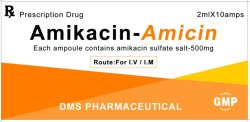 L'amikacine injection de sulfate d'usine BPF