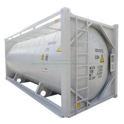 ISO 20 pies de cemento a granel contenedor cisterna de transporte de personalización de polvo de yeso, cemento, cemento a granel Flyash ISO (depósito)
