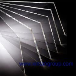 لوحة أكريليك ذات ورقة لقواعد ضوء LED 1 3 5 9 12 مم مع Mia معتمدة من SGS