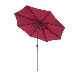 ombrello di spiaggia esterno rotondo di 10FT con la giuntura di inclinazione