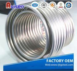 A269 A249 316L 304L Roestvrij staal Gerolde die Pijp ASTM voor Bouwmateriaal in China wordt gemaakt