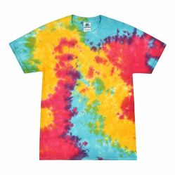 Commerce de gros Kid's funny tie dye Cusomized Design T Shirts