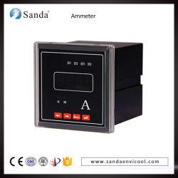 Medidor de corrente digital Amperímetro LED vermelho