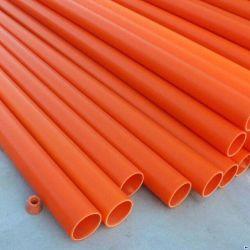 Orange mpp tuyau souterrain conduit de câbles électriques