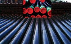 API 5CT de tubos de acero sin costura OCTG de aceite con el J55 K55 N80 L80 N80P P110 la carcasa y tubos