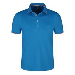 Van het Katoenen van de hoogste Kwaliteit de Unisex- Gemerceriseerde Beschikbare Voorraden Overhemd van het Polo