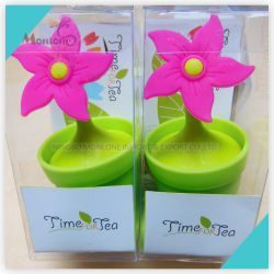 أدوات تحضير الشاي المبتكرة الفلتر السيليكون لشاي ستاينير 5*5*10 سم