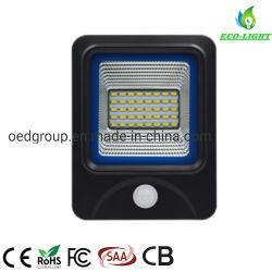 IP66 10W proyector LED PIR de la iluminación exterior