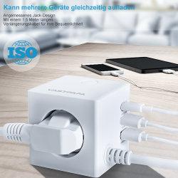 45W de type C pd portable avec adaptateur de voyage QC 3.0 5V 3.1A 15W Chargeur USB pour téléphone Mobile &PC
