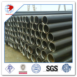 Sch40 perfectionné de tuyaux en acier au carbone soudé DIN2391 ST52 Bkw