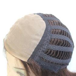 Lx042 Cabello Mono peluca para la Mujer Top