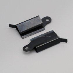 Пользовательские цинковым покрытием черного цвета металлического контакта Рессорный зажим для ремня