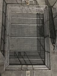 منتجات معدنية/معدنية من الفولاذ المقاوم للصدأ/سلة من النسيج الشبكي/سلك