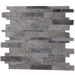 Venda a quente de fundo na parede de azulejos do Mosaico Quartzito Natural decorativas