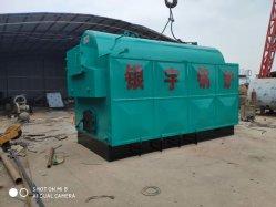 Manuel de série Dzh 0.5T 1t 2t 4t générateur de vapeur au charbon chaudière à vapeur Wood-Fired