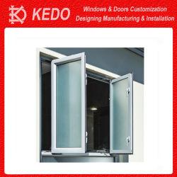 Chambre bon marché utilisé Petit profil aluminium Fenêtre à battant de verre