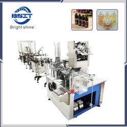 precio de fábrica E líquidos pequeña botella PET de llenado de líquido Máquina Tapadora de sellado (con CE)