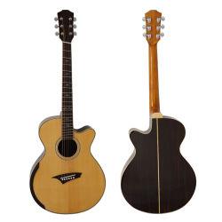 Mayorista de moderno diseño de Instrumentos Musicales Guitarra acústica con alta calidad