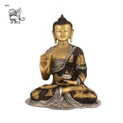 큰 종교계 인물 청동 조각품 청동 금관 악기 동상 Buddha Bsg 86