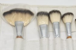 preço de fábrica 10 PCS Fundação do Anel de Ajuste da Escova Hand-Make Cabelo sintético macio Makeup Ajuste da Escova Beleza Ferramentas de cosméticos