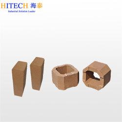 China Fabricante de tijolos de magnésia fundidos com elevada resistência térmica