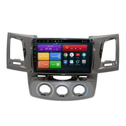 9 GPS van 8.1 Auto DVD van de Kern van Octa van de duim Androïde voor GPS van Toyota Hilux Vigo Fortuner Autoradio de HoofdEenheid van de Auto met de spiegel-Verbinding van BT RDS WiFi